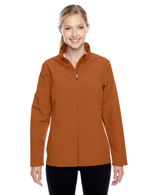 Burnt Orange - TT80W Team 365 Leader Soft Shell Jacket | BlankClothing.ca