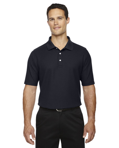 Navy - DG150T Devon & Jones Men's DRYTEC20 Tall Performance Polo Shirt | Blankclothing.ca