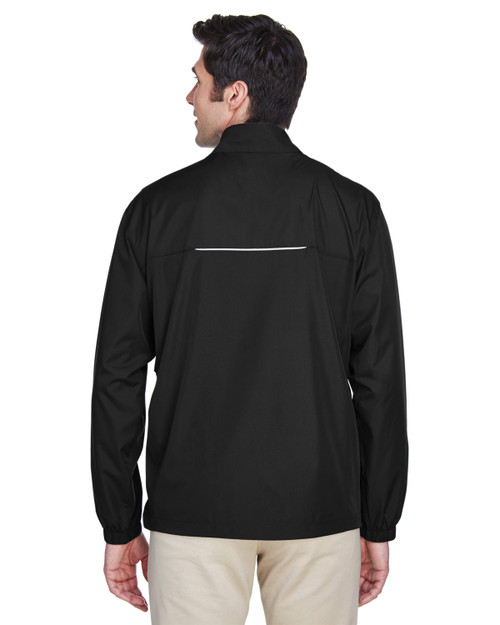Black - Back, 88183T Ash City - Core 365 Tall Motivate Unlined Lightweight Jacket | Blankclothing.ca