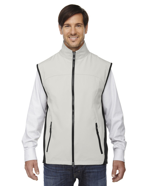 Natural Stone - 88127 North End Men's Soft Shell Performance Vest | Blankclothing.ca