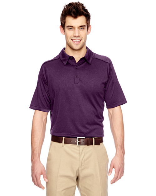 Mulbry Purpl 85117 Ash City - Extreme Eperformance Mélange Polo Shirt