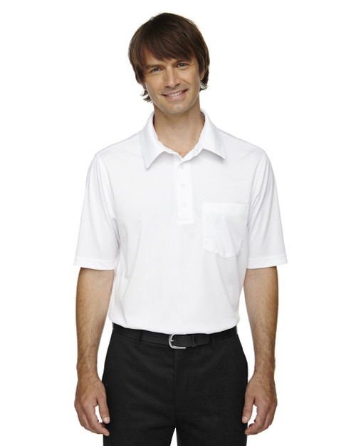 White - 85114T Ash City - Extreme Eperformance Men's Tall Protection Plus Polo Shirt