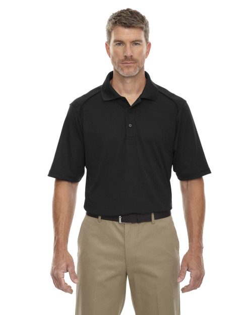 Black 85108 Ash City - Extreme Eperformance Men's Shield Short-Sleeve Polo Shirt