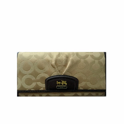 Madison OP Art Sateen Slim Envelpe Wallet