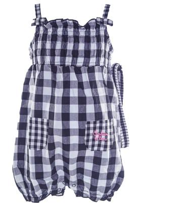 Baby Girl Overall & Headband set