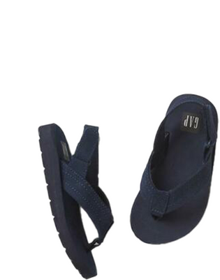 Toddler Boy Sueded Ankle Strap Flip Flops