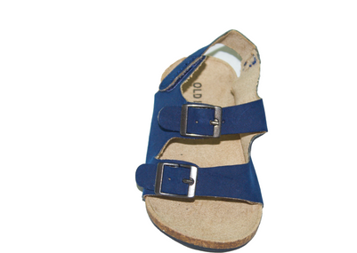 Baby Boy  Faux-Suede Double-Buckle Sandal