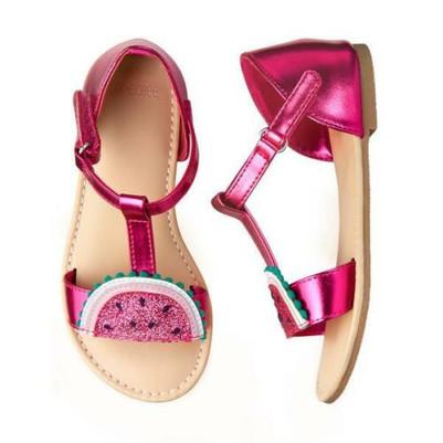 Big Girl Melon Sandals