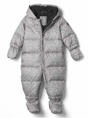 Baby Boy Warmest Down Snows Coat