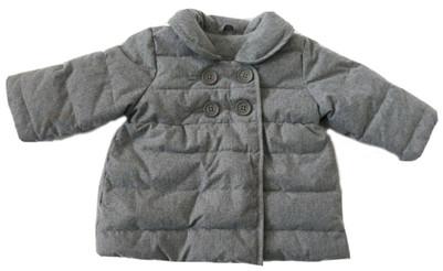 Baby Girl Warmest Herringbone Puffer Jacket Coat