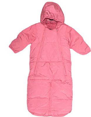 Baby Girl Convertible Snowsuit Bundler