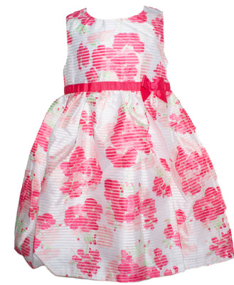 Toddler Girl  Organza Floral Dress