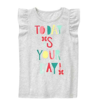 Toddler Girl Today is Your Day Tank