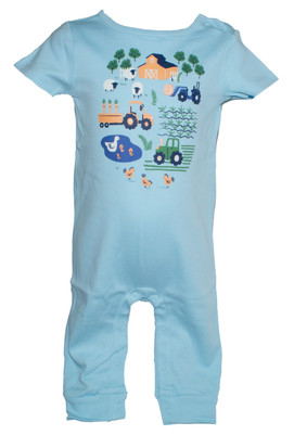 Baby Boy Little Farm 1-Piece