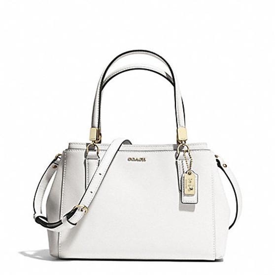 Madison Soffiano Leather Mini Christie Carryall