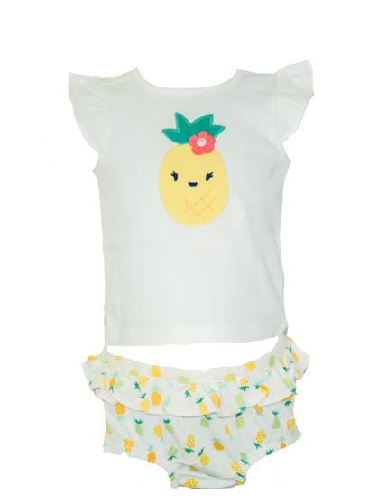 Baby Girl 2-pc Pineapple Set