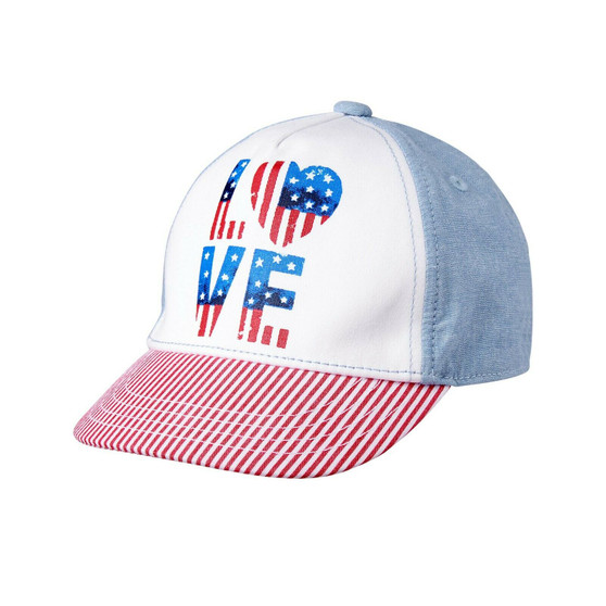 Girls Americana Love Hat