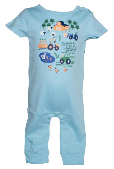 Baby Boy Little Farm 1-Piece