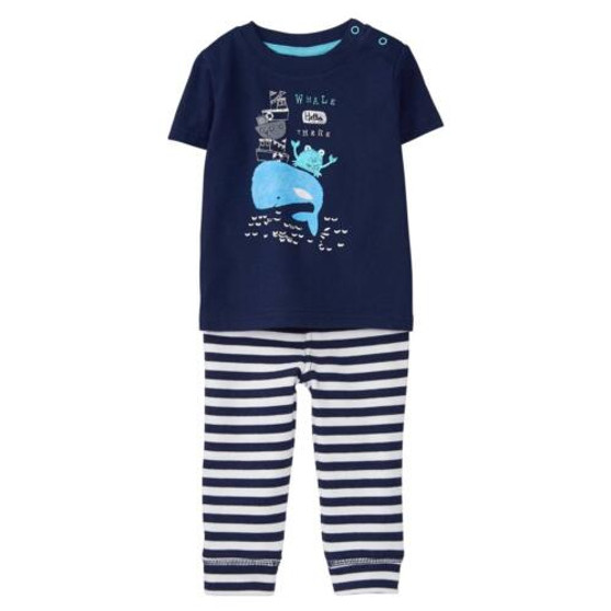 Baby Boy Whale Hello Set