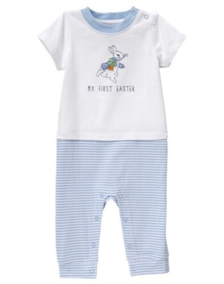 Baby Boy First Easter 1-Piece