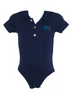 Baby boy 2-piece Blue Navy Polo  &  Plaid Short Set