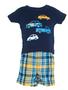 Baby boy 3-piece Cars & Short Set