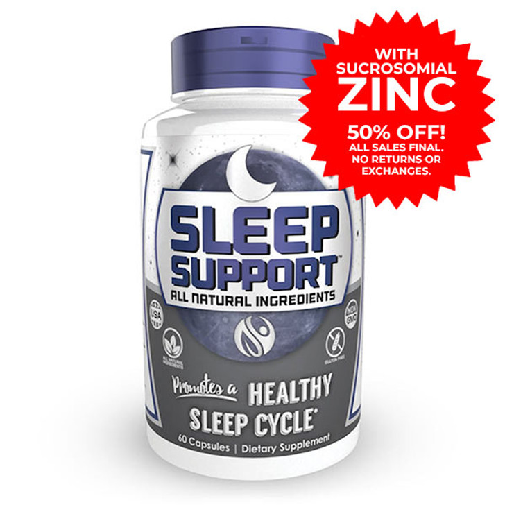 Sleep Support Capsules with Sucrosomial Zinc | Natural Sleep Aid
