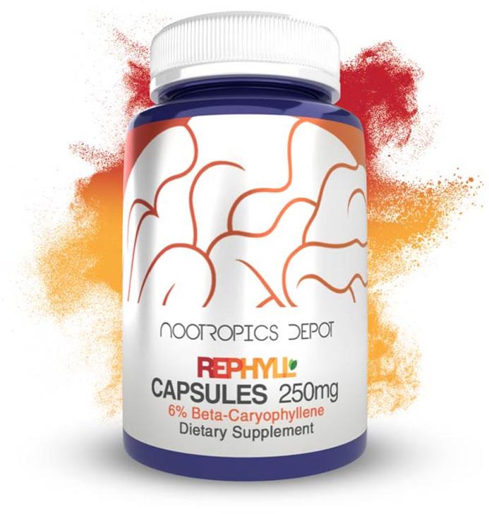 Rephyll Capsules   250mg   6% Beta Caryophyllene   Piper nigrum