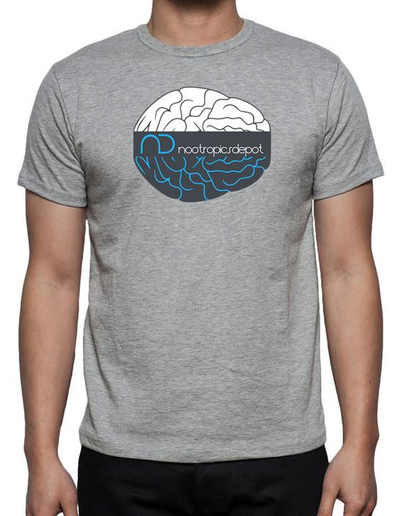 Nootropics Depot Brain Logo T-Shirt