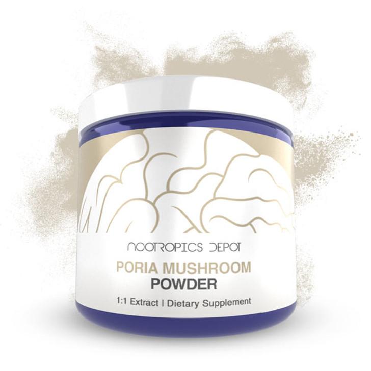 Poria Mushroom Extract Powder | Whole Fruiting Body | Wolfiporia extensa