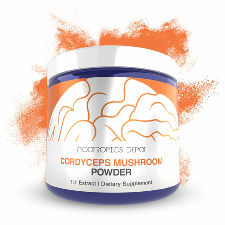Cordyceps Mushroom Extract Powder | Whole Fruiting Body | Cordyceps militaris