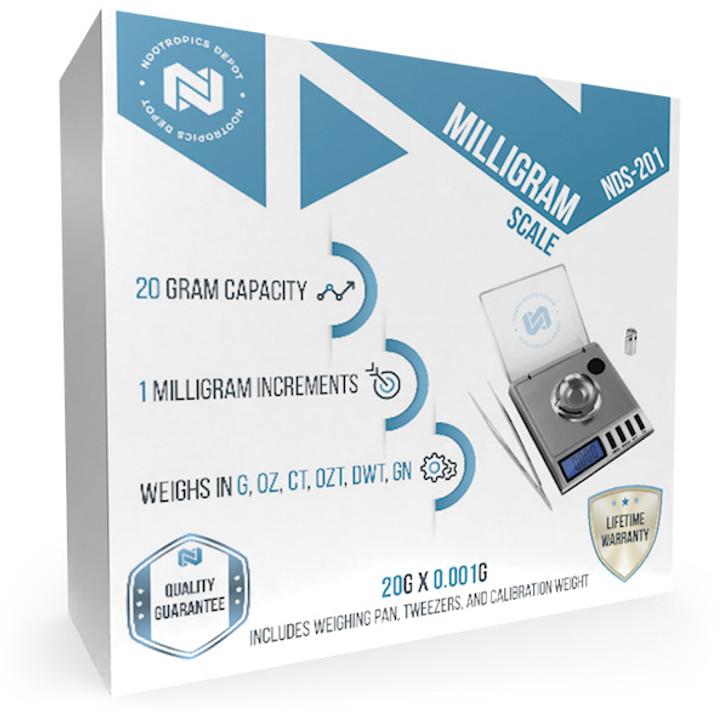 Nootropics Depot Milligram Scale   NDS-201
