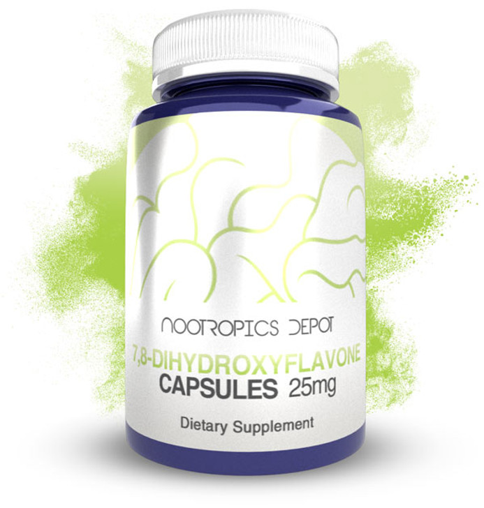 7,8-Dihydroxyflavone Capsules | 25mg | 7,8 DHF