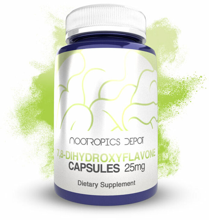 7,8-Dihydroxyflavone Capsules | 25mg | 7,8 DHF | Tropoflavin