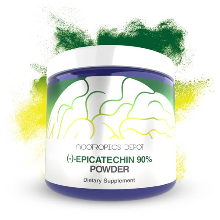 Epicatechin 90% Powder | (−)-epicatechin