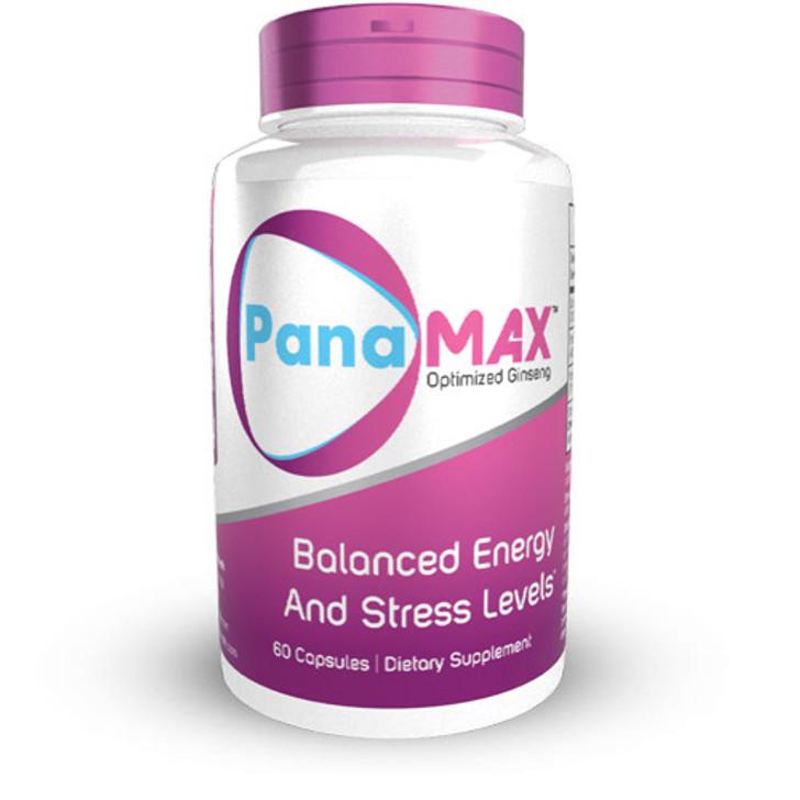 PanaMAX Optimized Ginseng Capsules | Panax Ginseng + Schisandra Extract