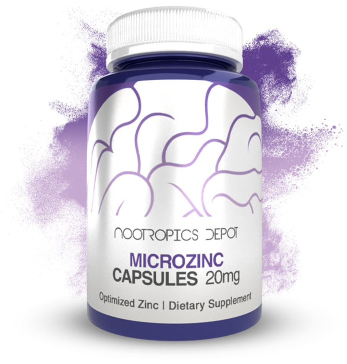 MicroZinc Capsules | 20mg | Optimized Zinc