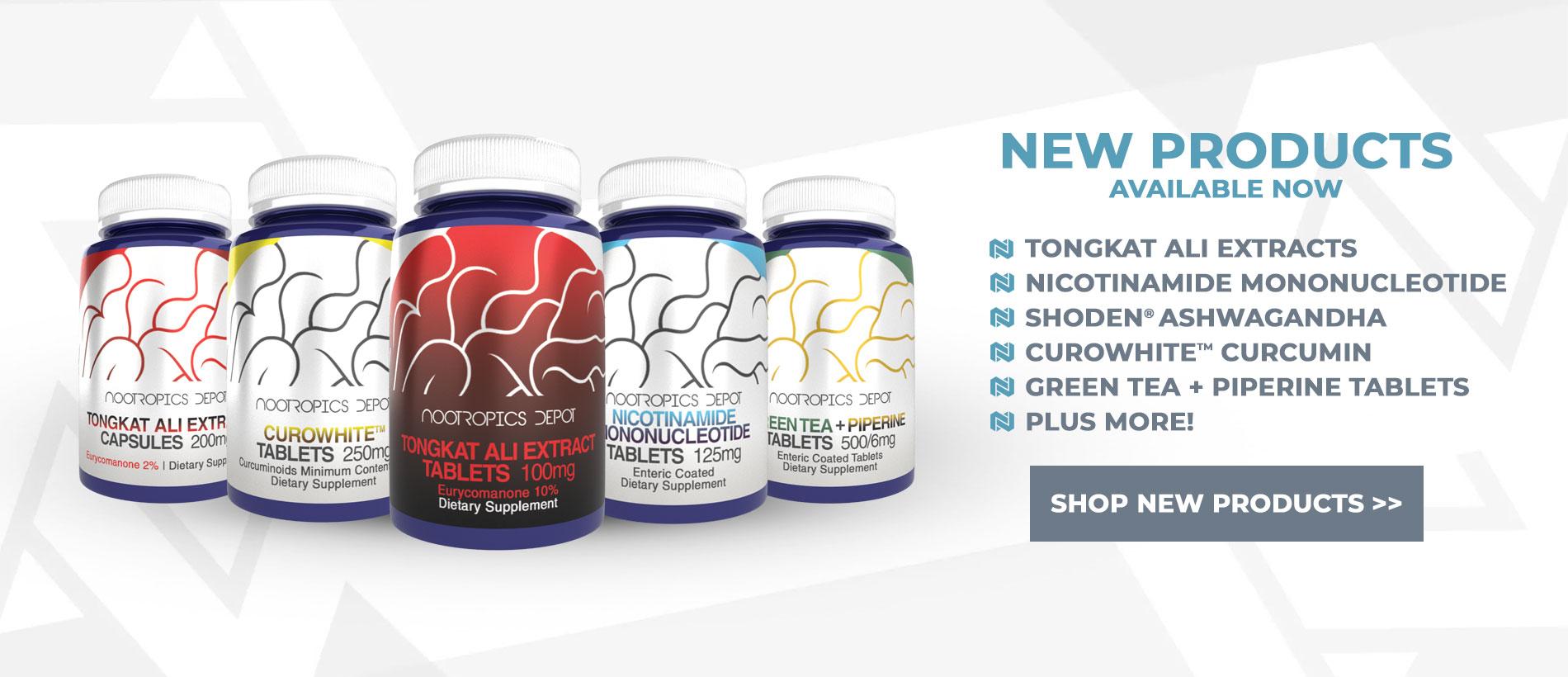 Nootropics Depot New Products
