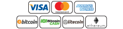 Nootropics Depot accepts the following forms of payment: Visa, Mastercard, American Express, Bitcoin, Bitcoin Cash, Litecoin, and Ethereum.