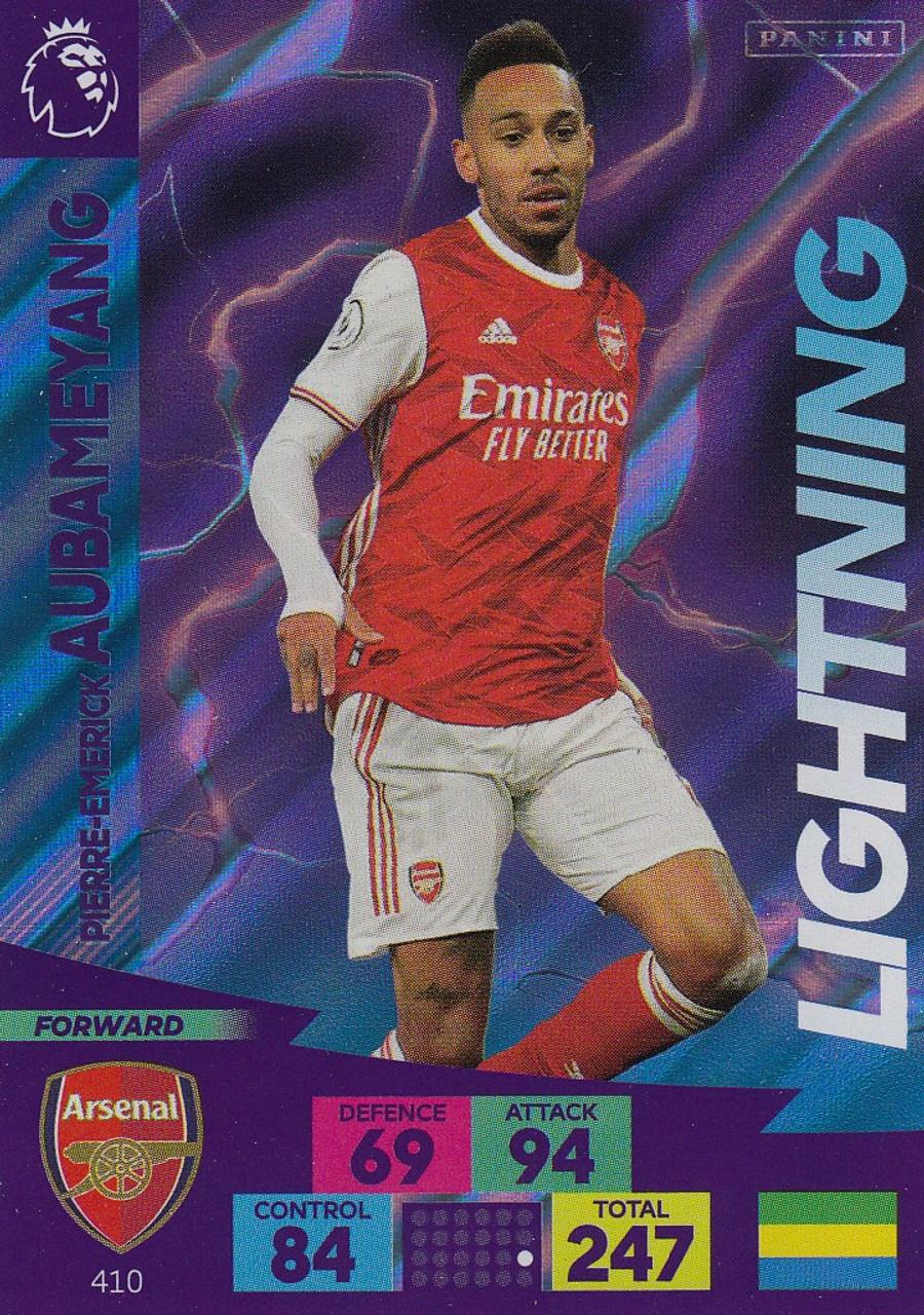 Panini Adrenalyn XL Champions League 13//14 270-p aubameyang-Impact Signings