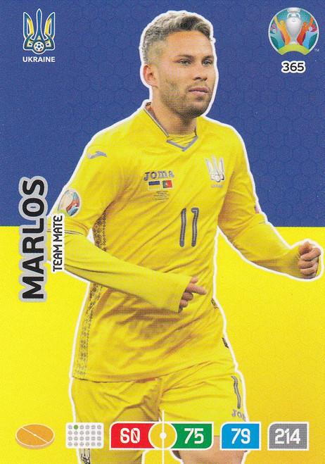 #365 Marlos (Ukraine) Adrenalyn XL Euro 2020
