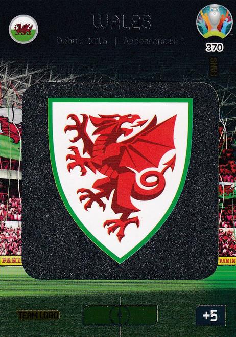 #370 Wales Logo Adrenalyn XL Euro 2020