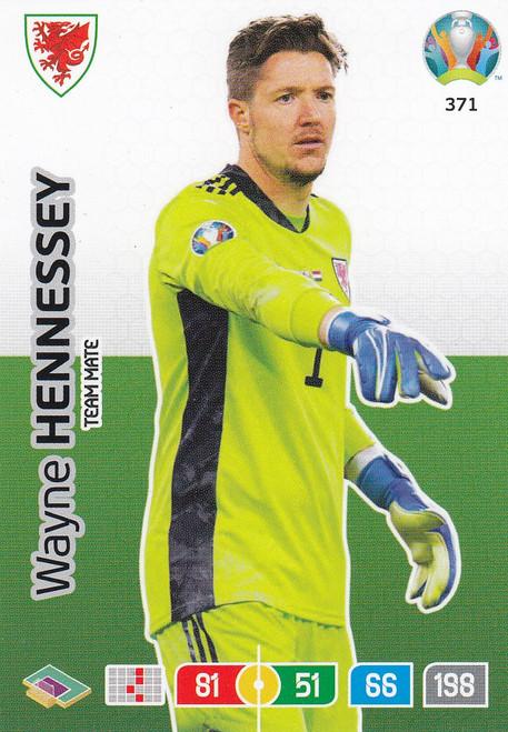 #371 Wayne Hennessey (Wales) Adrenalyn XL Euro 2020
