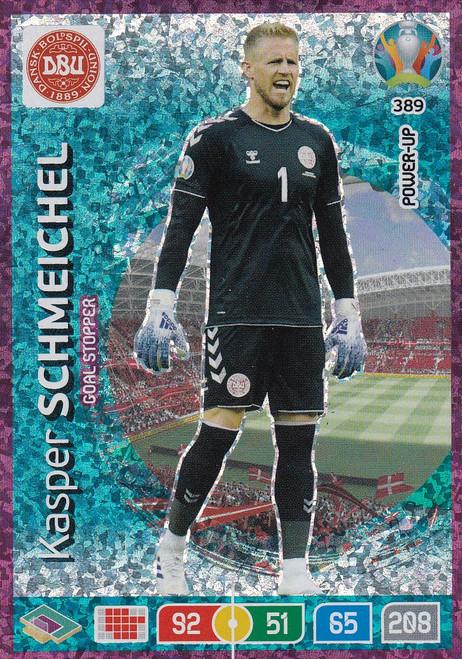 #389 Kasper Schmeichel (Denmark) Adrenalyn XL Euro 2020 POWER UP