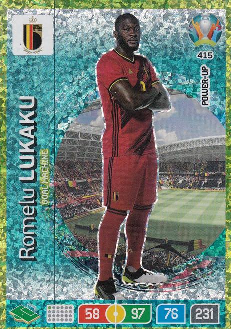 #415 Romelu Lukaku (Belgium) Adrenalyn XL Euro 2020 POWER UP