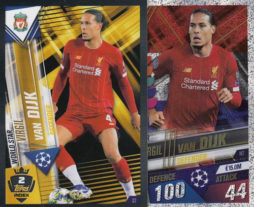#W2 Virgil Van Dijk (Liverpool FC) Match Attax 101 2019/20