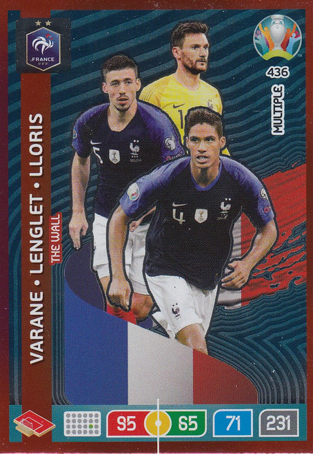 #436 France Adrenalyn XL Euro 2020 MULTIPLE - THE WALL