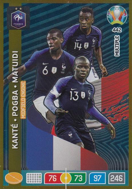 #442 France Adrenalyn XL Euro 2020 MULTIPLE - MIDFIELD ENGINE