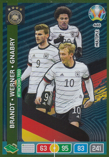 #448 Germany Adrenalyn XL Euro 2020 MULTIPLE - ATTACKING TRIO