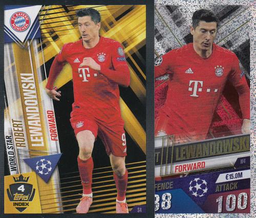 #W4 Robert Lewandowski (FC Bayern Munchen) Match Attax 101 2019/20